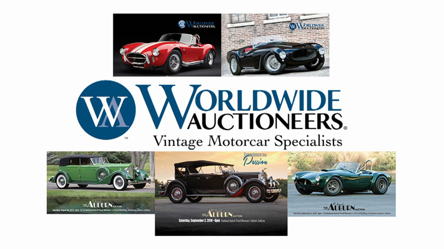 Worldwide Auctioneers 11th annual The Auburn Auction