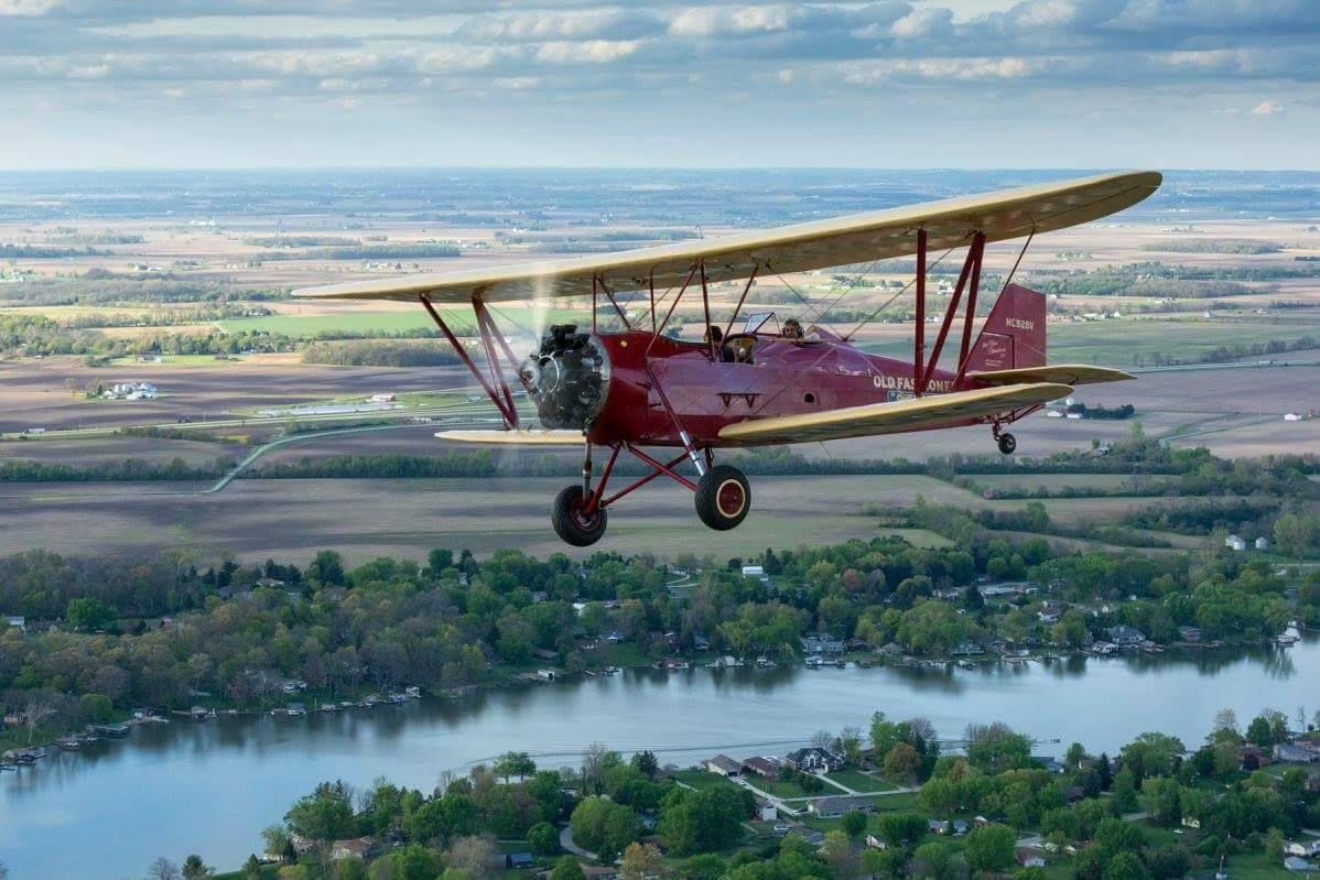Flight Experience on a 1930 D-25 New Standard Biplane