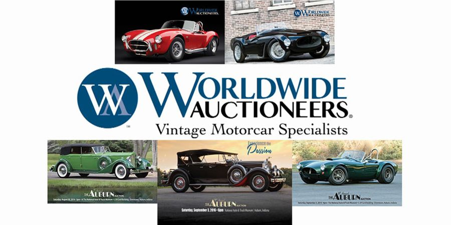 Worldwide Auctioneers 12th annual The Auburn Auction